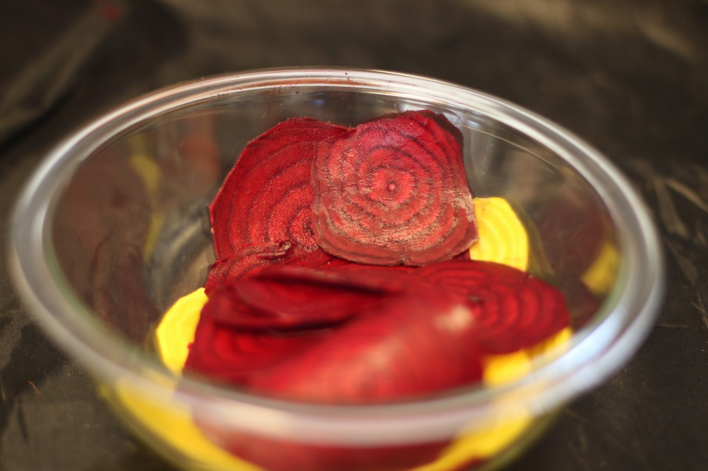 Beet Chips and Cilantro Hummus Recipe