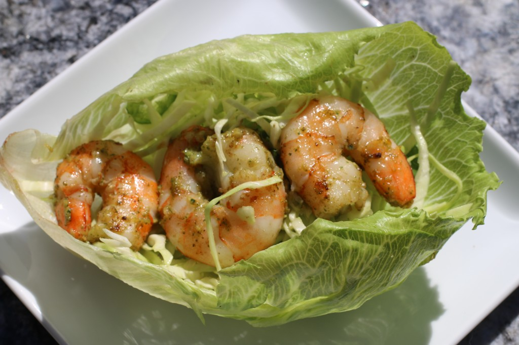 Shrimp Taco Lettuce Wrap